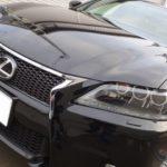 【レクサス】洗車・・・黒い車も安心艶々になる洗車サービス