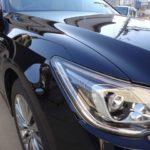 【黒い車】洗車キズをつけない洗車法で美し仕上がり美しい艶に!