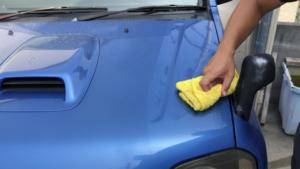 水なし洗車